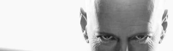 banner bald man
